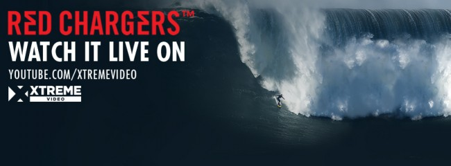 RED CHARGERS BIG WAVE EVENT ON XTREME VIDEO