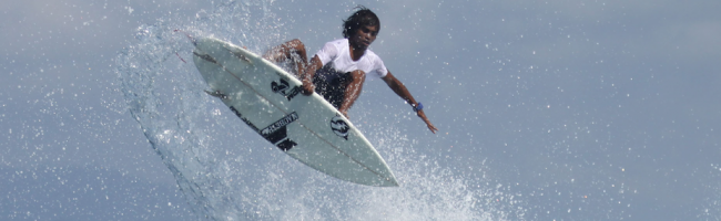 Oney Anwar Chasing the Dream surfing