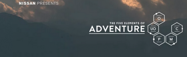 Nissan The Five Elements of Adventure